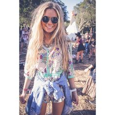 This person is what you would call a hippie. Hippies are usually very respectful of nature and have a great appreciation for it, just like Transcendentalists. This woman is a perfect example of what a Transcendentalist is.