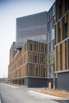 Parque tecnológico Nanjing Hongfeng, edificio A1,© Hou Zhiwei
