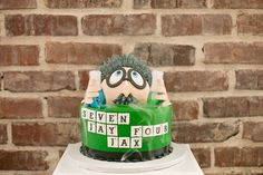 Mad Scientist themed birthday party via Kara's Party | Ideas : The Mad Cake