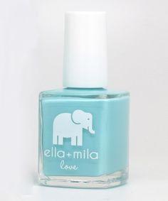 Another great find on #zulily! Beach Resort Blue Nail Polish by ella+mila #zulilyfinds www.ellamila.com