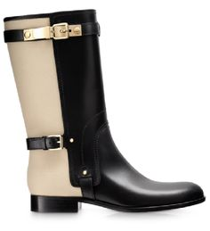 08df3109808 Dior Boots - black leather and canvas
