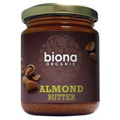 Biona Almond Butter is an organic, vegan friendly spread which is also great for cakes and desserts and used in baking. Dried Bananas, Dried Blueberries, Dried Apples, Organic Almond Butter, Biscuits, Healthy Crisps, Organic Nuts, Hazelnut Butter, Cashew Butter