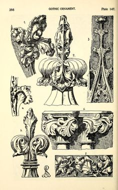 "more@ - Image Plate from Alexander Speltz's 1906 book, ""Styles of Ornament""."