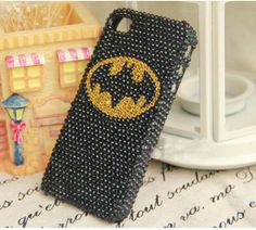 batman phone case bling --- So my birthday is this month... Who wants to buy me this(: