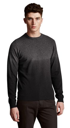 M&S By AUTOGRAPH Merino Wool Rich Slim Fit Dip Dye Jumper with Cashmere.  XX-Large  MRRP: £55.00GBP - AVI Price: £33.00GBP