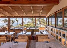 Cocktails, Ocean Views and Cacio e Pepe Pizza Await You at Santa Monica's New Rooftop Oasis food Cocktails, Ocean Views and Cacio e Pepe Pizza Await You at Santa Monica's New Rooftop Oasis Pepes Pizza, Rooftop Restaurant, Ocean View Restaurant, Santa Monica Restaurants, Rooftop Garden, Dining Room Table, Modern Rustic, Oasis, Beach House