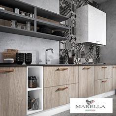 Bosetti Marellan vetimet antavat yksilöllisen ilmeen keittiölle. #bosettimarella #vetimet #koti #toimisto #sisustus #sisustussuunnittelu #interior #interiordesign #helakeskus #tukkumyynti #yritysmyynti