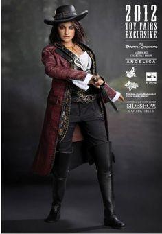 Figura Los Piratas del Caribe en Mareas Misteriosas. Angelica, 30 cms. Sideshow Collectibles Espectacular figura de 30 cms perteneciente a la película Los Piratas del Caribe en Mareas misteriosas con el personaje Angelica interpretado por la actriz Penelope Cruz.