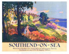 Southend on Sea Kunstdruk