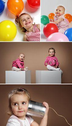 Kindershooting im Studio