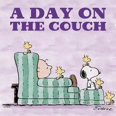 A good day to spend on the couch.