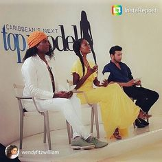 Wendy Fitzwilliam on Caribbean Next Top Model wears this yellow maxi dress by #coleenpantondesigns.  Thanks Wendy! You slayed that dress!! #yellowdress #missuniverse #maxidress #caribbeannexttopmodel