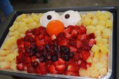 Elmo Fruit Salad :)