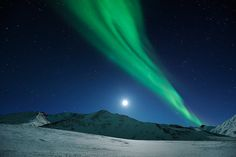 Arctic Moon by Ben  H., via Flickr