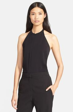A.L.C. 'Ali' Stretch SilkHalter Top available at #Nordstrom