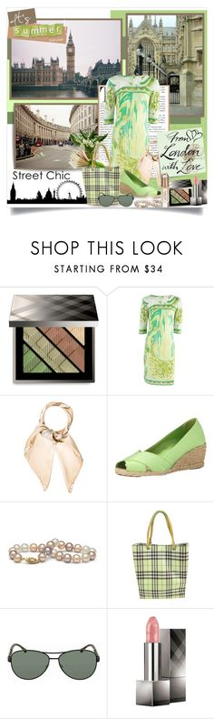 """""""From London with love💕"""" by ela79 ❤ liked on Polyvore featuring Burberry, Emilio Pucci, Lauren Ralph Lauren, Post-It and heatwave"""