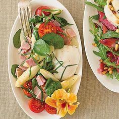 Spargelsalat mit Bärlauch Rezept | Küchengötter
