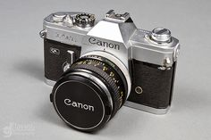 1972 Canon FTb 35mm: My dad's old camera & my favorite of several of my film cameras.