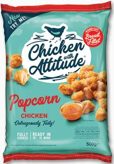 Quality Dinner option in a hurry…Chicken with Attitude® Fully cooked - ready in 15 minutes! Snack Recipes, Snacks, Dinner Options, Frozen Chicken, Crisp, Attitude, Spicy, Oven, Tasty