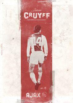 Football Legends Posters by Luke Barclay, via Behance