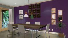 #autodeskhomestyler #kristy #diningroom #interiordesign #decoration #purple #winter