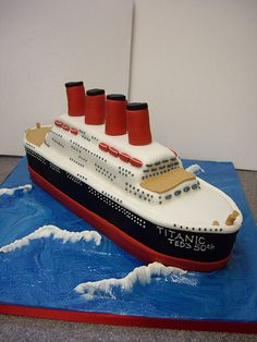 How To Make A Cruise Ship Cake Topper