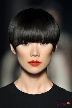 Shor hair with fringe