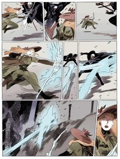 cite yer sources — loic-locatelli: My comicbook Persephone is out...