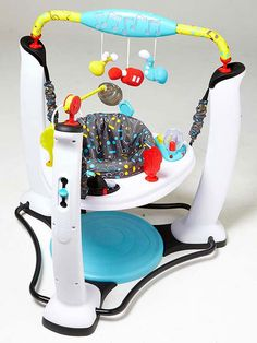 When your baby outgrows the bouncer, but before he's up and walking, one of these will be his favorite place to play.