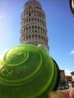 No snails at the Leaning Tower of Pisa as the Snail Cafe keeps them away
