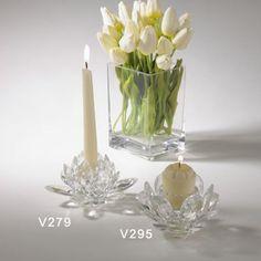 Saro Crystal Candle Holder - Set Of 2 – Modish Store