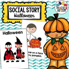 This social story is a great read for students who may need some support with Halloween. A lot of children struggle with this event, it may cause them anxiety and they may not even want to take part in Halloween events. Hopefully, this social story will help encourage your child(ren)/students to take part in some Halloween events or even just to be able to understand more about it, and also help to promote independence. Autism Teaching, Autism Classroom, Social Skills For Kids, Social Behavior, Visual Aids, Classroom Community, Social Stories, Dramatic Play, Speech And Language