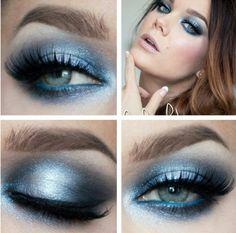 Blue eye by Linda Hallberg