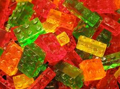 Lego gummies (i have a strong dislike of jello, but i would totally make these)