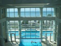 Indoor/Outdoor pool at Majestic Sun, Destin Florida