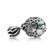 Pandora Splish-Splash Charm- #PANDORAsummercontest swimming like a fish in the sea!
