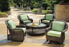 Keywest Swivel Chat Patio Furniture In Hattiesburg Ms Outdoor Rooms