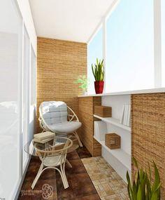 мебель и отделка для балкона