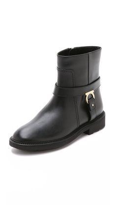 Salvatore Ferragamo Lambo Moto Boots