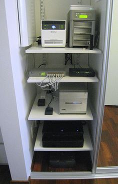 "At-Home Server Closet- will have one of these. will be ""brain center"" for home."