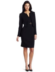 Evan Picone Women's Inset Waist Jacket Pant Suit $200.00 | Womens ...