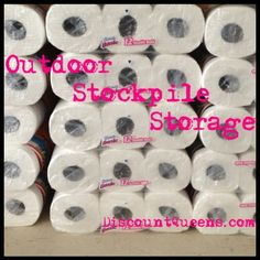 Storing Your Stockpile in Outside Storage Areas: WINTER