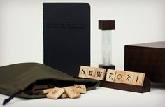 GRAPHIC DESIGN – TYPOGRAPHY – scrabble introduces an upgraded edition of its typography set.