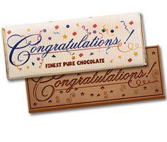 Congratulations 2x5 Chocolate Bar