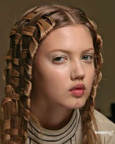 Hair Weaving At McQueen
