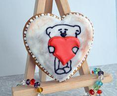 имбирный пряник Heart Cookie