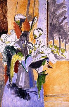 Henri Matisse - 1912, Bouquet (Arum Lilies)