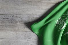 rendering of Kingdom of Saudi Arabia flag waving on a wooden surface National Day Saudi, Happy National Day, National Flag, King Salman Saudi Arabia, Ksa Saudi Arabia, Instagram Profile Picture Ideas, Karbala Photography, Iphone Wallpaper Images, Starting Keto Diet