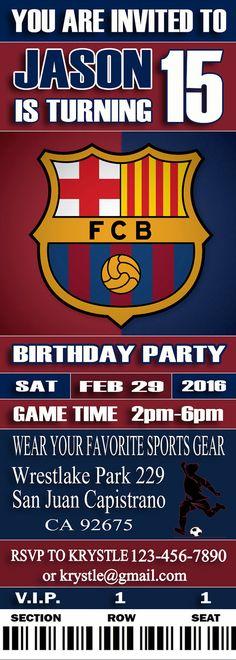 FC Barcelona Cumpleaños cumpleaños Digital por SportfunDigital