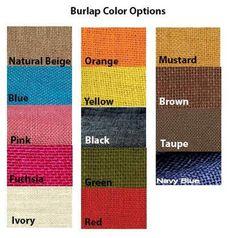 Burlap Monogram Pillow Cover With Fringes - 14x27